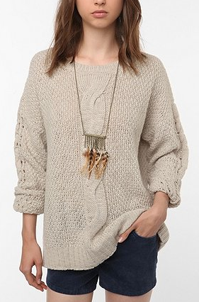 blending beautiful} » On The Hunt: Chunky Sweater Edition