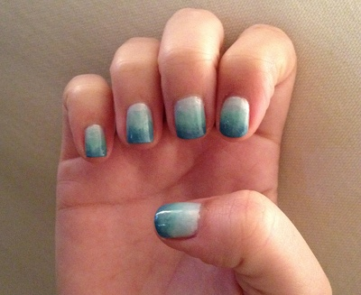 How to Ombre Nails with Sponge HD Wallpaper