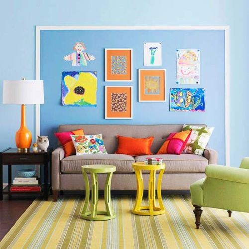 blending beautiful magnetic wall paint