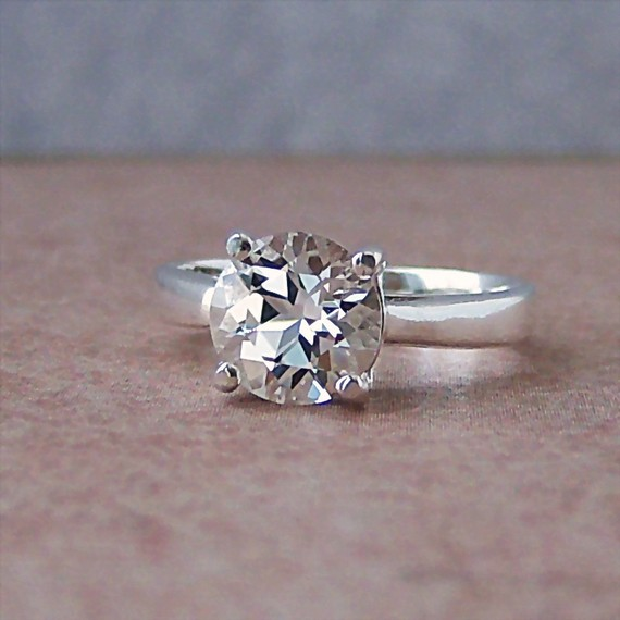 Another Great Option Is White Topaz
